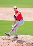 29 February 2016: Washington Nationals pitcher Michael Brady on the mound during an inter-squad pre-season Spring Training game at Space Coast Stadium in Viera, Florida. Mandatory Credit: Ed Wolfstein Photo *** RAW (NEF) Image File Available ***