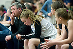 After fouling out, Chugiak's Randi McMullen exemplifes the mood on the Chuigak bench during the CIC championship loss to the Lynx.  Photo for the Star by Michael Dinneen