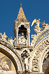 Front of Saint Marks Basilica - Venice - Italy