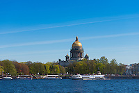 St. Isaak's Cathedral in Saint Petersburg, Russia
