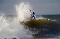 Fredrick Patacchia (HAW) competes in Heat 7 of Round 3 during the 2011 Quiksilver Pro New York in Long Beach, NY.