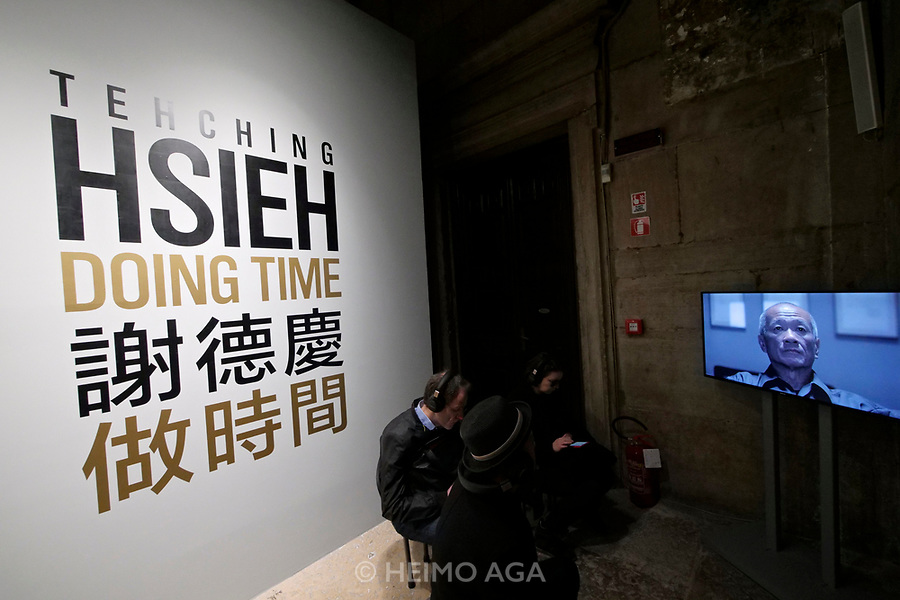 57th Art Biennale in Venice - Viva Arte Viva.<br /> Palazzo delle Prigioni, Taiwan exhibition.<br /> Tehching Sieh: Doing Time.