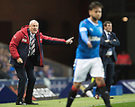 Rangers v St Johnstone&hellip;26.10.16..  Ibrox   SPFL<br />Rangers boss Mark Warburton<br />Picture by Graeme Hart.<br />Copyright Perthshire Picture Agency<br />Tel: 01738 623350  Mobile: 07990 594431