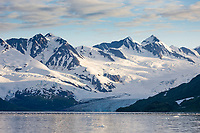 Harriman Glacier, Harriman Fjord, Chugach National Forest, Chugach mountains, Prince William Sound, southcentral, Alaska.