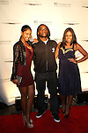 """Bernice Burgos, Power 105.1 Breakfast Clubs' Leonard """"Charlamagne Tha God"""" McKelvey and Angela Yee Attend the Shawn Carter Foundation 2011 Carnival at Hudson River Park's Pier 54: The Shawn Carter Foundation's Exclusive Fundraising Event to Support its College Scholarship, NY   9/29/11"""