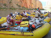 COURTESY PHOTO ROBERT PEKEL<br /> Pekel crewed on rafts that transported gear for the Grand Canyon expedition. His job involved helping with whatever chores needed to be done on the river or in camp.