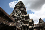 The central tower of Angkor Wat, Cambodia. June 7, 2013.