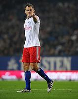 FUSSBALL   1. BUNDESLIGA   SAISON 2011/2012    11. SPIELTAG Hamburger SV - 1. FC Kaiserslautern                          30.10.2011 Heiko WESTERMANN (Hamburger SV)