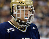Sean Lorenz (Notre Dame - 24) - The University of Notre Dame Fighting Irish defeated the Merrimack College Warriors 4-3 in overtime in their NCAA Northeast Regional Semi-Final on Saturday, March 26, 2011, at Verizon Wireless Arena in Manchester, New Hampshire.