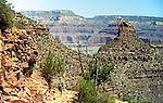 Walking the Bright Angel Trail at the Grand Canyon