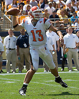 August 30, 2008: Bowling Green quarterback Tyler Sheehan..The Bowling Green Falcons defeated the Pitt Panthers 27-17 on August 30, 2008 at Heinz Field, Pittsburgh, Pennsylvania.
