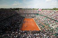 AMBIENCE<br /> <br /> Tennis - French Open 2014 -  Toland Garros - Paris -  ATP-WTA - ITF - 2014  - France - <br /> 2nd June 2014. <br /> <br /> &copy; AMN IMAGES