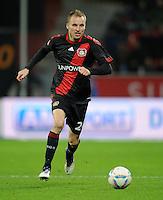 FUSSBALL   1. BUNDESLIGA   SAISON 2011/2012    15. SPIELTAG Bayer 04 Leverkusen - 1899 Hoffenheim                  02.12.2011 Michal Kadlec (Bayer 04 Leverkusen) Einzelaktion am Ball