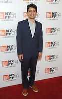 NEW YORK, NY - OCTOBER 01:  Lin-Manuel Miranda attends the 54th New York Film Festival - 'Manchester by the Sea' World Premiere at Alice Tully Hall at Lincoln Center on October 1, 2016 in New York City.Photo Credit: John Palmer/MediaPunch