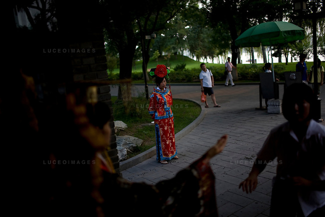 A costume shop in Beihai Park in Beijing, China on Tuesday, August 12, 2008.  Kevin German