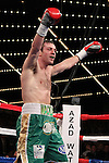 Mar 17; New York, NY, USA; Matthew Macklin during his 12 round World Middleweight championship bout against Sergio Martinez at the Theater at Madison Square Garden.