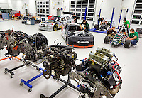 Photography of the N.C. Motorsport and Automotive Research Center on the UNC Charlotte campus in Charlotte, NC...Photo by: PatrickSchneiderPhoto.com