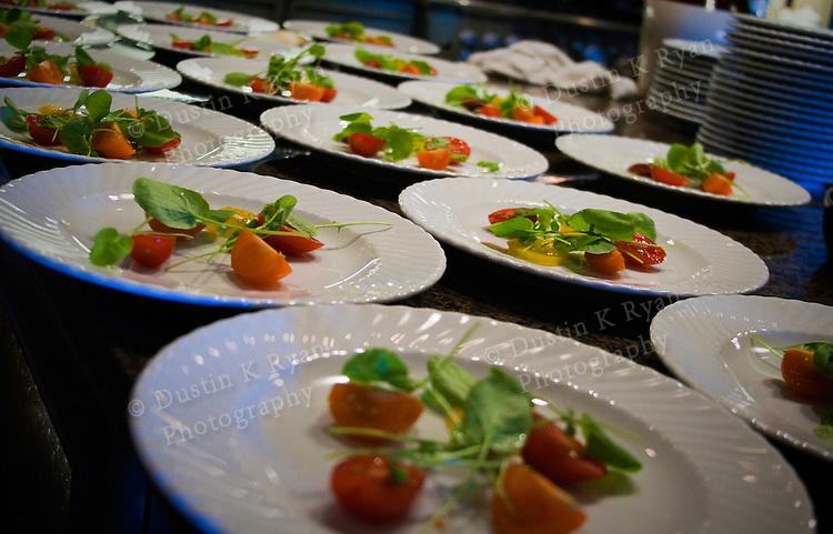 Plated Dinner Salads salad