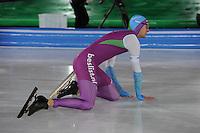 SCHAATSEN: AMSTERDAM: Olympisch Stadion, 28-02-2014, KPN NK Sprint/Allround, Coolste Baan van Nederland, Thomas Krol, ©foto Martin de Jong