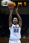 19 December 2014: Duke's Oderah Chidom. The Duke University Blue Devils hosted the University of Massachusetts Lowell River Hawks at Cameron Indoor Stadium in Durham, North Carolina in a 2014-15 NCAA Division I Women's Basketball game. Duke won the game 95-48.