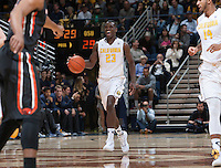 Berkeley, CA - March 1, 2015: California Golden Bears' 73-56 victory against Oregon State Beavers during NCAA Men's Basketball game at Haas Pavilion.