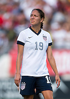 Stephanie Cox.  The USWNT defeated Brazil, 4-1, at an international friendly at the Florida Citrus Bowl in Orlando, FL.