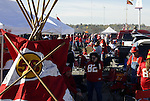 31 October 2004: The parking lots at Arrowhead are full of tailgaters before the game. The Kansas City Chiefs defeated the Indianapolis Colts 45-35 at Arrowhead Stadium in Kansas City, MO in a regular season National Football League game..