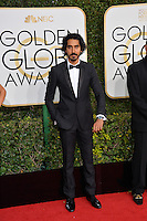Dev Patel at the 74th Golden Globe Awards  at The Beverly Hilton Hotel, Los Angeles USA 8th January  2017<br /> Picture: Paul Smith/Featureflash/SilverHub 0208 004 5359 sales@silverhubmedia.com