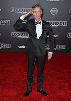 Educator Bill Nye at the world premiere of &quot;Rogue One: A Star Wars Story&quot; at The Pantages Theatre, Hollywood. <br /> December 10, 2016<br /> Picture: Paul Smith/Featureflash/SilverHub 0208 004 5359/ 07711 972644 Editors@silverhubmedia.com