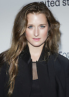HOLLYWOOD, LOS ANGELES, CA, USA - OCTOBER 30: Grace Gummer arrives at UNICEF's Next Generation's 2nd Annual UNICEF Masquerade Ball held at the Masonic Lodge at the Hollywood Forever Cemetery on October 30, 2014 in Hollywood, Los Angeles, California, United States. (Photo by Rudy Torres/Celebrity Monitor)