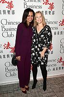 Laurence ROUSTANDJEE - Caroline FAINDT - Chinese Business Club a l'occasion de la Journee Internationale de la Femme - 8 mars 2017 - Paris - France