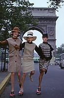 Fashion, New York City, 1963. Photo by John G. Zimmerman.