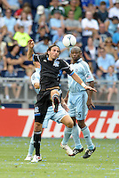 San Jose forward Alan Gordon (16) in action... Sporting Kansas City defeated San Jose Earthquakes 2-1 at LIVESTRONG Sporting Park, Kansas City, Kansas.