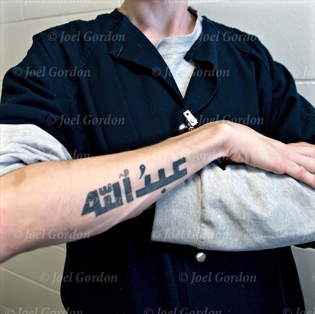 muslim inmatetattoo joel gordon photography
