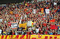 Nagoya Grampus fans, SEPTEMBER 18, 2011 - Football / Soccer : 2011 J.League Division 1 match between Kashima Antlers 1-1 Nagoya Grampus Eight at Kashima Soccer Stadium in Ibaraki, Japan. (Photo by AFLO)