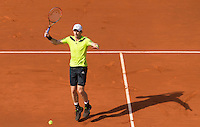 ANDY MURRAY (GBR)<br /> <br /> Tennis - French Open 2014 -  Toland Garros - Paris -  ATP-WTA - ITF - 2014  - France <br /> 6th June 2014. <br /> <br /> &copy; AMN IMAGES