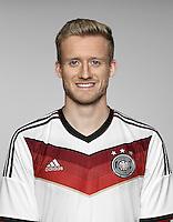 FUSSBALL   PORTRAIT TERMIN DEUTSCHE NATIONALMANNSCHAFT 24.05.2014 Andre Schuerrle (Deutschland)