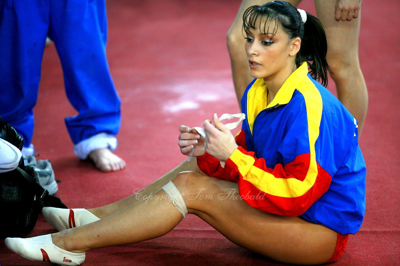 Romanian star gymnast refuses big partys proposal to
