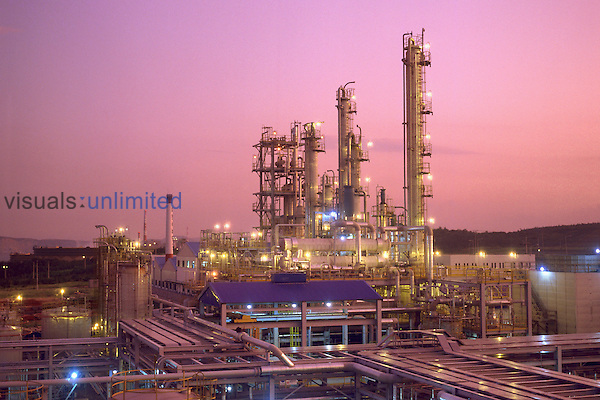 Small petrochemical plant in S. Korea.