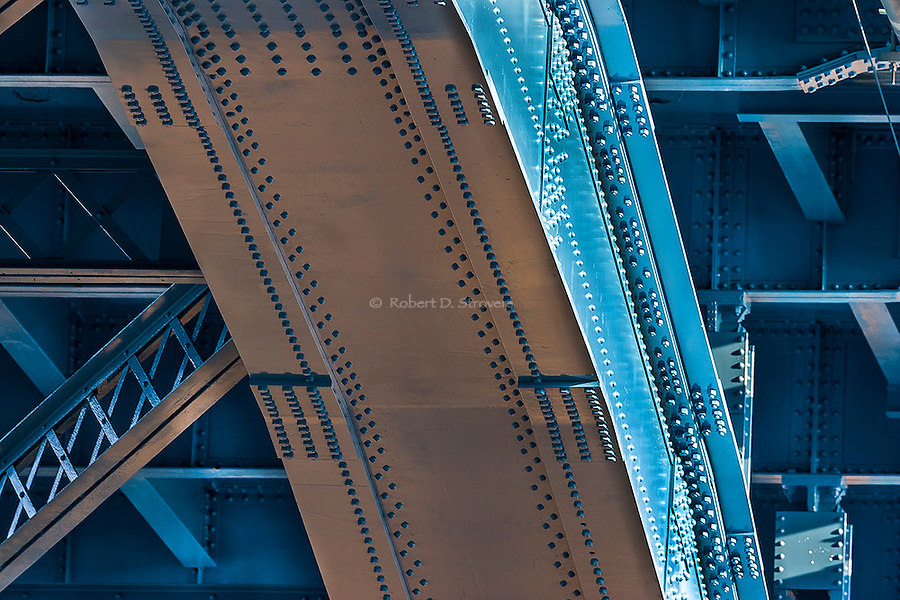 Pittsburgh's bridges - 31st Street Bridge detail