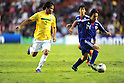 (R-L) Shoya Nakajima (JPN), Misael (BRA),JULY 3, 2011 - Football :2011 FIFA U-17 World Cup Mexico Quarterfinal match between Japan 2-3 Brazil at Estadio Corregidora in Queretaro, Mexico. (Photo by AFLO)