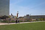 The Columbus Commons | Architects: Moody Nolan Landscape Architects: Edge Group