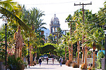 "The coastal town of Loreto, home to the, ""Mother of California Missions."" Gulf of California, Baja California, Mexico"