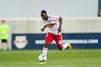 Lloyd Sam (10) of the New York Red Bulls. The New York Red Bulls and the Columbus Crew played to a 2-2 tie during a Major League Soccer (MLS) match at Red Bull Arena in Harrison, NJ, on May 26, 2013.