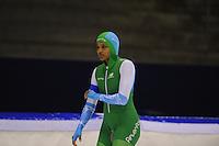 SCHAATSEN: HEERENVEEN: 16-01-2016 IJsstadion Thialf, Trainingswedstrijd Topsport, Anice Das, ©foto Martin de Jong