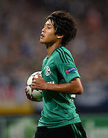 FUSSBALL   CHAMPIONS LEAGUE   SAISON 2013/2014   PLAY-OFF FC Schalke 04 - Paok Saloniki        21.08.2013 Atsuto Uchida (FC Schalke 04)