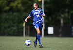 23 September 2007: Duke's Christie MacDonald. The Duke University Blue Devils defeated the Ohio State University Buckeyes 2-1 at Koskinen Stadium in Durham, North Carolina in an NCAA Division I Women's Soccer game, and part of the annual Duke Adidas Classic tournament.