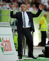 USSBALL   1. BUNDESLIGA   SAISON 2011/2012    5. SPIELTAG VfL Wolfsburg - FC Schalke 04                                  11.09.2011 Trainer Felix MAGATH (Wolfsburg)