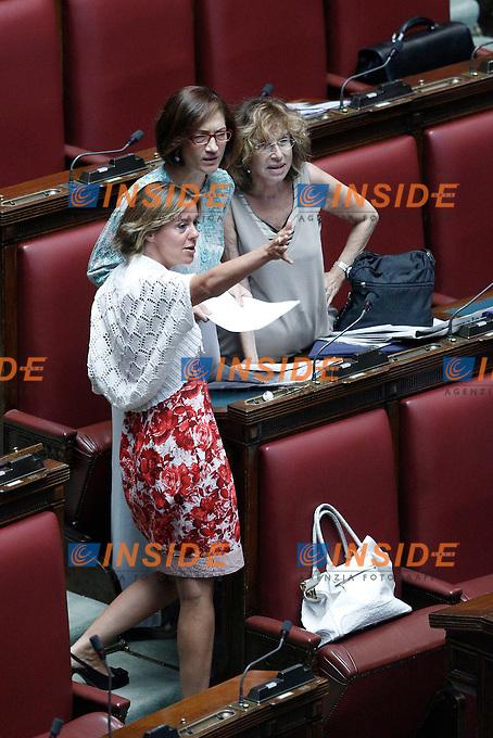 Camera dei deputati voto di fiducia sulla spending for Lavori camera dei deputati