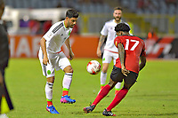 PUERTO ESPANA, Trinidad y Tobago - March 28, 2017: Mexico defeated Trinidad y Tobago 1-0 in a CONCACAF World Cup Qualifier match at Hasely Crawford Stadium.